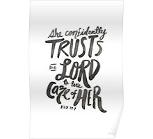 Psalm 112: 7 Poster