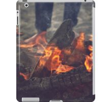 Campfire at the Beach iPad Case/Skin