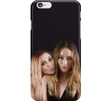 Eliza Taylor and Alycia Debnam Carey - Comic Con - The 100 Poster iPhone Case/Skin