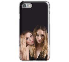 Eliza Taylor and Alycia Debnam Carey - Comic Con - The 100 Poster iPhone Case/Skin
