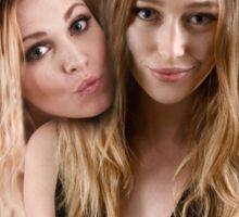 Eliza Taylor and Alycia Debnam Carey - Comic Con - The 100 Poster Sticker