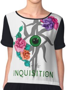 'For the Inquisition' Dragon Age Chiffon Top