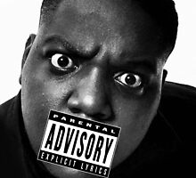 Biggie Smalls - Parental Advisory by hermitcrab