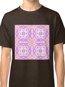 popping pink kaleidoscope pattern Classic T-Shirt