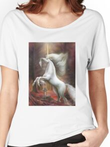 Autumn Unicorn Women's Relaxed Fit T-Shirt