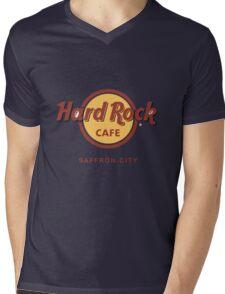 Hard Rock Cafe Pokemon Saffron City Mens V-Neck T-Shirt