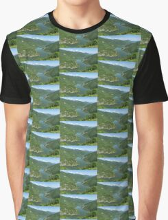 Green Mountains, Spilling in the Lake Graphic T-Shirt