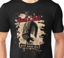 Rock-n-Roll Microphone - red Unisex T-Shirt