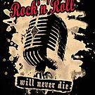 Rock-n-Roll Microphone - red by Bela-Manson