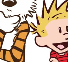 Calvin and Hobbes 2016 Sticker