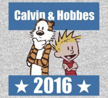 Calvin and Hobbes 2016 Baby Tee