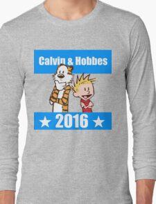 Calvin and Hobbes 2016 Long Sleeve T-Shirt