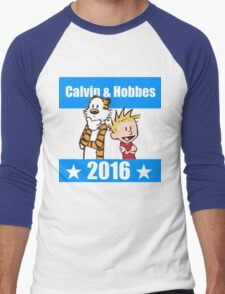 Calvin and Hobbes 2016 Men's Baseball ¾ T-Shirt