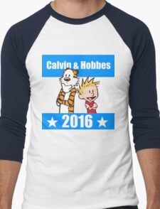 Calvin and Hobbes 2016 Men's Baseball ¾ T-Shirt