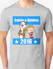 Calvin and Hobbes 2016 Unisex T-Shirt