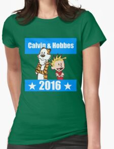 Calvin and Hobbes 2016 Womens Fitted T-Shirt