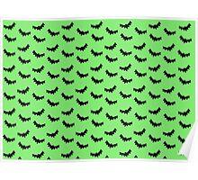 Batty - Green Poster