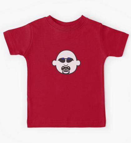 Baby Gangsta Face VRS2 Kids Tee