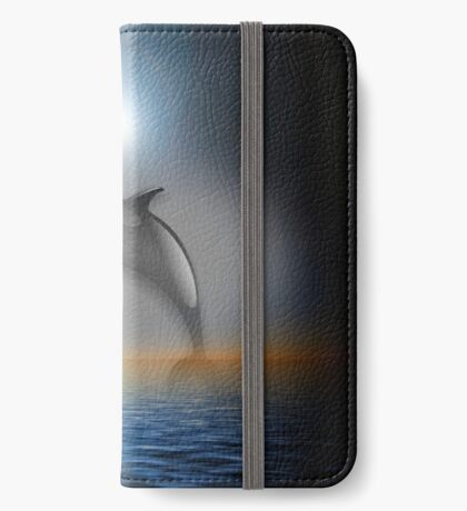 Dolphin Moon iPhone Wallet/Case/Skin