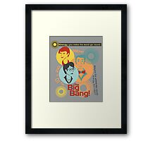The Universe of Energy Framed Print
