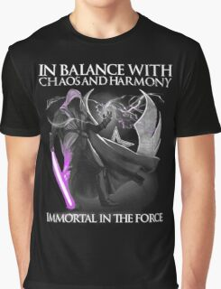In balance with chaos and harmony Immortal in the force Shirt Graphic T-Shirt