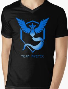Mystic - Pokemon Go - Team Mystic Mens V-Neck T-Shirt