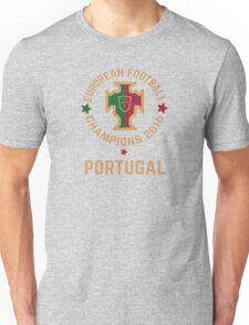Portugal Euro 2016 Champions T-Shirts etc. ID-3 on White T-Shirt
