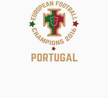 Portugal Euro 2016 Champions T-Shirts etc. ID-3 on White Unisex T-Shirt