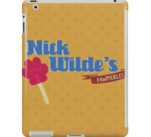 Nick Wildes Pawpscicles iPad Case/Skin