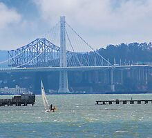 Fading Bay Bridge by David Denny