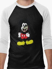 Zombie Mickey Mouse Men's Baseball ¾ T-Shirt
