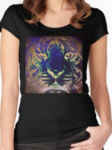 Tiger_8566 Women's Fitted Scoop T-Shirt