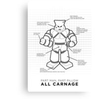 Pillowman | Community Canvas Print