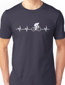 Cycling Heartbeat Unisex T-Shirt