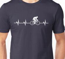 Cycling Heartbeat Unisex T-Shirt