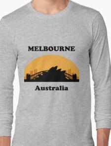 Sydney Tourist, Melbourne Clueless Long Sleeve T-Shirt