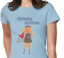 thunder goddess Womens Fitted T-Shirt