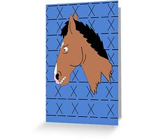 Bojack Greeting Card