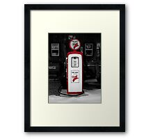 Americana Series:  Texaco Pump Framed Print