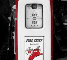Americana Series:  Texaco Pump Sticker