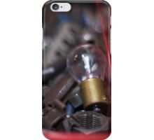 LIGHTBLUB WITH TOOLS iPhone Case/Skin