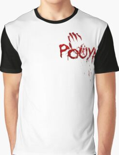Pouya Blood Graphic T-Shirt