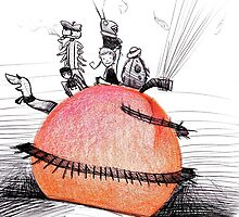 Not So Giant James and The Peach by Hayley Evans