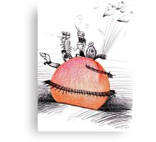 Not So Giant James and The Peach Canvas Print