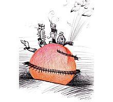 Not So Giant James and The Peach Photographic Print