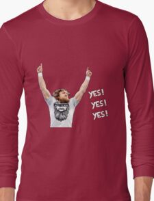 Daniel Bryan - YES! YES! YES! Long Sleeve T-Shirt