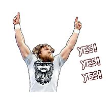 Daniel Bryan - YES! YES! YES! Photographic Print
