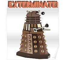 Dalek Exterminate! Poster