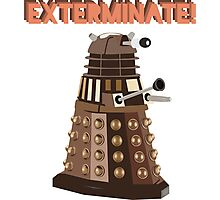 Dalek Exterminate! Photographic Print