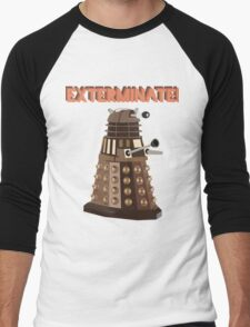 Dalek Exterminate! Men's Baseball ¾ T-Shirt
